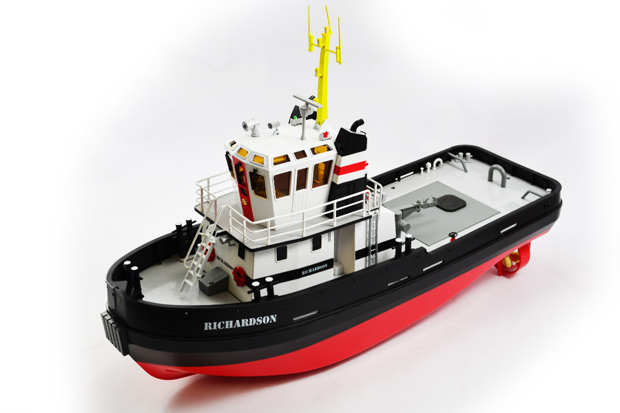 Richardson Tug Boat with Smoke, Working Lights, Horn 2 4GHz Radio - Hobby  Engine
