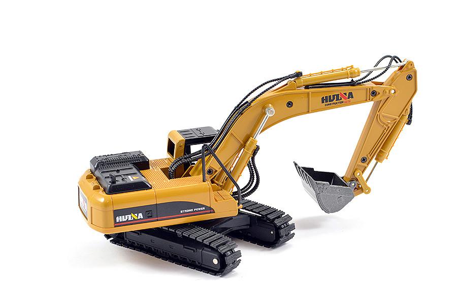 Huina 1//50 Diecast Escavadeira estática Modelo-CY1710