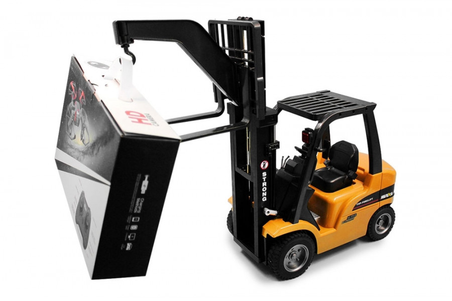 Large 8 Channel RC Fork Lift Truck with Metal Frame, Cab & Wheels ...