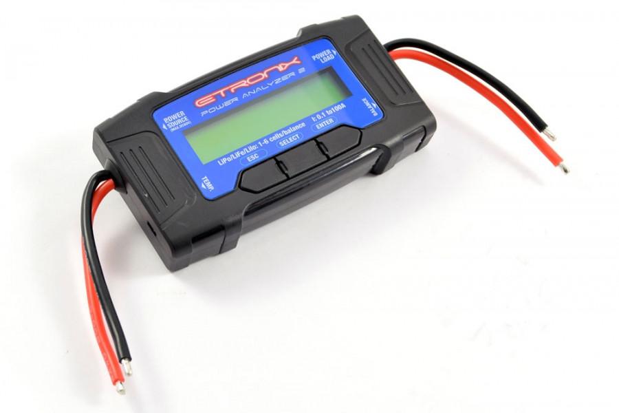 Etronix Power Analyzer 2 Multifunction Watt Meter Battery Checker Balancer