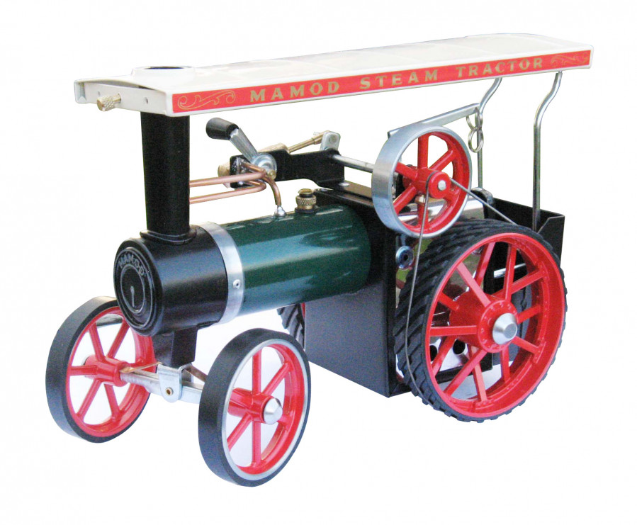 Mamod TE1A Live Steam Traction Engine, Ready Built Working Model ...