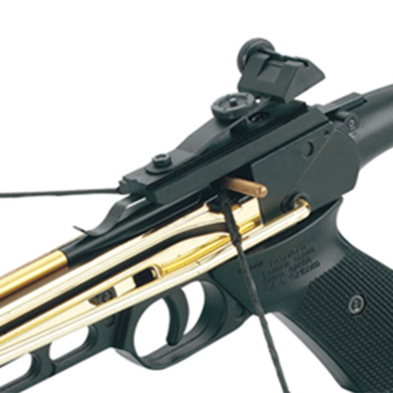 80lb Self-Cocking Aluminium Pistol Crossbow with 3 Bolts