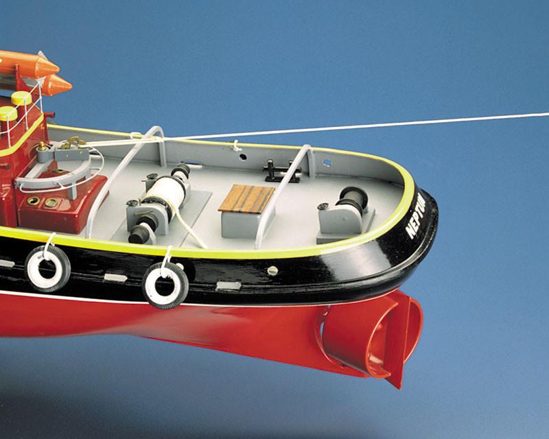 Neptune Tug Boat including Fittings 1:50 Scale Krick Robbe RC Model Kit