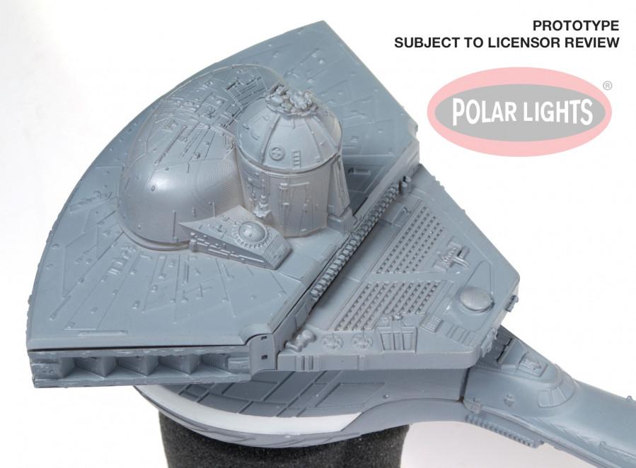 Star Trek Klingon K't'inga Class Battle Cruiser I K S Amar Large 1:350  Scale Polar Lights Kit