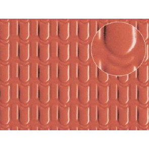 Slaters 0441 Pantile Roofing (Medium) Plastikard Plasticard 00 Model Railway Warhammer