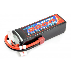 Voltz 2200mAh 4S 14.8V 30C Lipo RC Battery w/XT60 Connector Plug