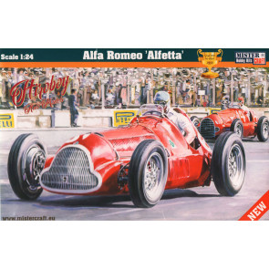 Alfa Romeo 158/159 Alfetta 1950 French Grand Prix Winner 1:24 Plastic Kit MCD222