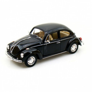 Welly Diecast 1/24 | Volkswagen VW Beetle | Black Hard Top Model Car