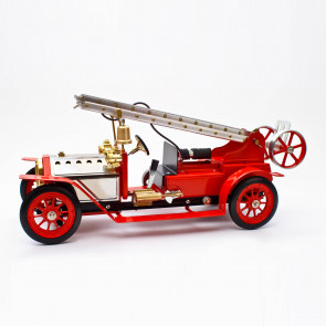 Mamod FE1 Working Live Steam Edwardian Fire Engine Truck, Ready Built - Top Seller