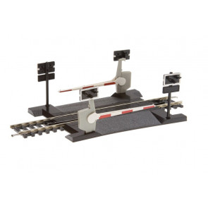 Hornby Accessories R645 Single Track Level Crossing - 00 Gauge Model Trains