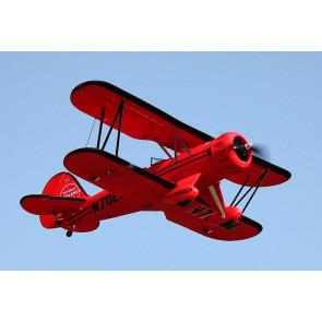 Dynam Waco F Series RTF Red Bi-Plane PnP no Tx/Rx/Bat/Chg