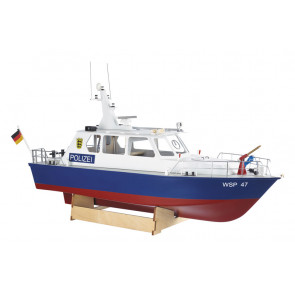 Krick Radio Control Police Motor Launch 1:20 Scale Model Boat Kit