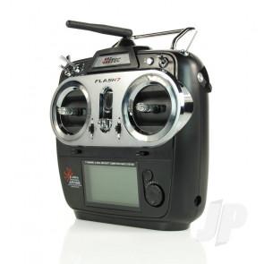 Hitec Flash 7 Tx 7ch Rx 2.4GHz AFHSS/SLT 4096 Res.