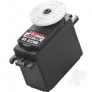 Hitec HS322HD Standard Servo With HD Gears Long Life Pot