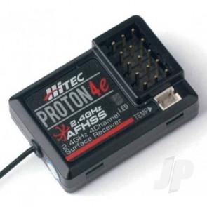 Hitec Proton 4e Telemetry 2.4GHz 4-Ch Receiver