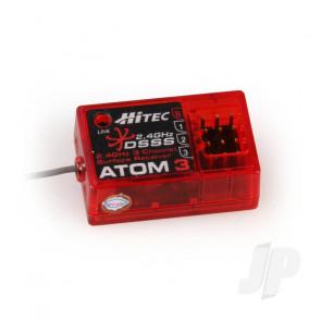 Hitec Atom 3 2.4GHz 3ch DSSS Micro Receiver (29324)