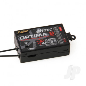 Hitec Optima 9 2.4GHz AFHSS Telemetric 9ch Full Range Receiver For RC Model