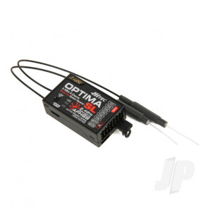 Hitec Optima SL S/BUS 2.4GHz AFHSS Telemetric 8ch Receiver 27224