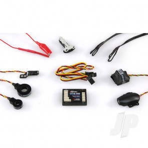 Hitec HTS-SS Blue Full Telemetry Combo Pack (55846) For RC Aircraft