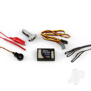 Hitec HTS-SS Blue C50 Telemetry Combo Pack (55847) For RC Aircraft