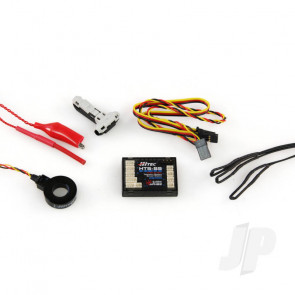 Hitec HTS-SS Blue C200 Telemetry Combo Pack (55848) For RC Aircraft