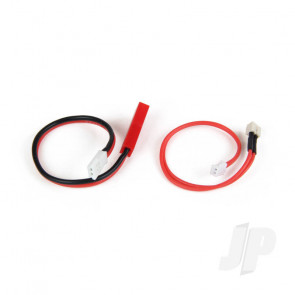 Hitec MX to E-Flite / JST Charger Adaptor leads (118334) For RC Aircraft