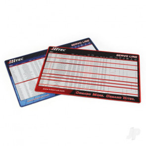 Hitec Servo Mat Application Chart