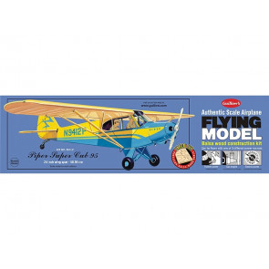 Piper Super Cub 95 Flying Model Balsa Aircraft Kit 610mm Wingspan from Guillow's