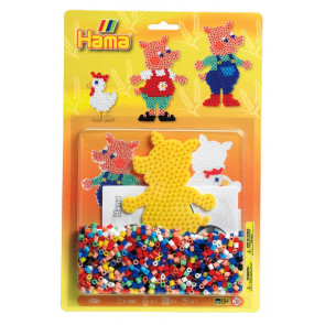 Pigs Midi Hama 1100 Bead Boxed Gift Set