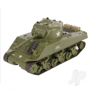 Henglong 1:30 Sherman Easy Eight RC Tank with IR Battle System and Sound
