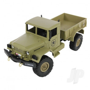 Henglong 1:16 2.4GHz 4x4 U.S. Military RC RTR Truck