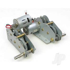 Henglong Panzer IV F1/F2 Metal Gearbox/Motor Set (3858/59