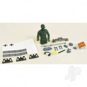 Henglong Panzer III Decals and Fittings (Grey)