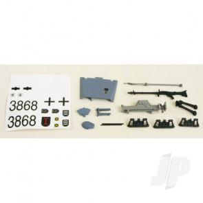 Henglong Stug III Decals/Driver/Fittings (Grey)