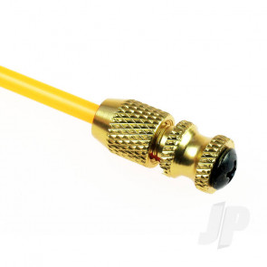 JP RC Antenna Pipe With Gold Metal Anodised Base