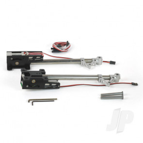 JP Electric Retracts 22-33cc Main Set and Legs for RC Model Planes