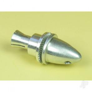 EnErG Propeller Adaptor Small w/ Spinner Nut (3.17mm shaft) for RC Models