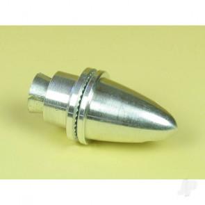EnErG Propeller Adaptor Medium w/ Spinner Nut (3.17mm shaft) for RC Models