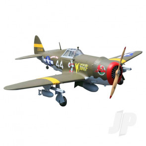 Seagull P-47 Thunderbolt Razorback 38-50cc (with retracts) 2.03m (80in) (SEA-306) RC Aeroplane
