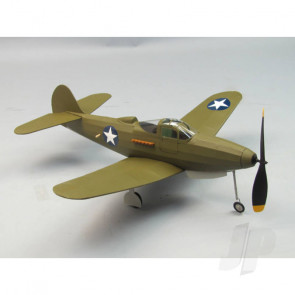 Dumas Air Cobra P-39 (45.72cm)(233) Balsa Aircraft Kit
