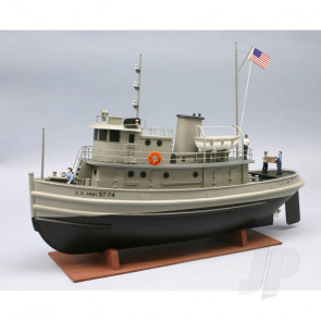 Dumas U.S. Army 74ft St Tug (1256) Wooden Ship Kit