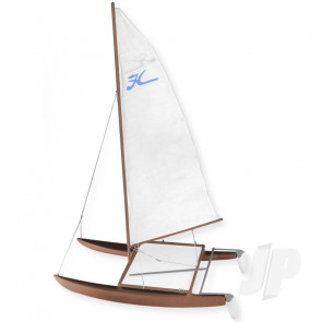 Dumas Hobie Cat (1101) Wooden Ship Kit