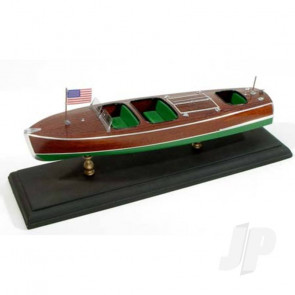 Dumas Chris-Craft Cockpit Barrel Back (1703) Wooden Ship Kit