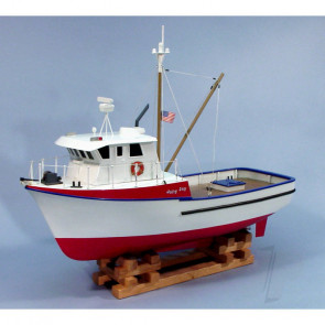 Dumas The Jolly Jay Fishing Boat (1231) Wooden Ship Kit