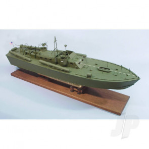 Dumas PT-109 U.S. Navy Boat (1233) Wooden Ship Kit