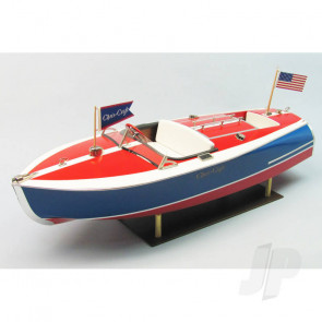 Dumas 16ft Chris-Craft Painted Racer (1263) Wooden Ship Kit