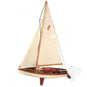 Dumas Lightning Sailboat (1110) Wooden Ship Kit