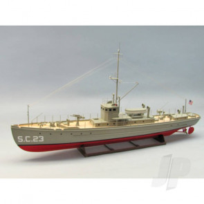 Dumas SC-1 Class Sub-Chaser (1259) Wooden Ship Kit
