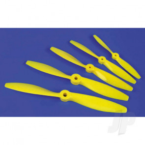 JP Nylon Propeller Yellow 8x4 59L for RC Aircraft