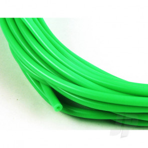 JP 2mm (3/32) Silicone Fuel Tube Neon Green 10m For RC Model